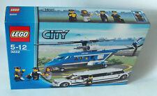 Lego® City 3222 - Hubschrauber und Limousine 267 Teile 5-12 Jahren - Neu
