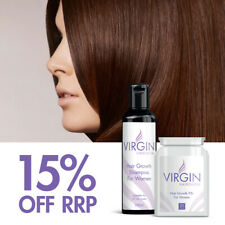 Hair Goals - Virgin Hairloss Pills & Virgin Hairloss Shampoo For Women