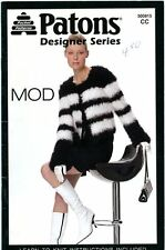 Patons Designer Series MOD Knitting Pattern Booklet #500815 for Women
