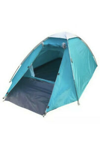2 Person Man Double Layer Tent Camping Festivals Fire Retardant Light & Durable