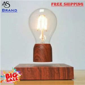 Creative Magnetic Levitating Floating Light Bulb Lamp For Unique Gift Home Décor
