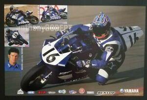 Vintage Poster 2002 Anthony Gobert YZF-R7 Yamaha Racing Superbike YZF-R6