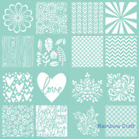 Kaisercraft Templates Stencils 12 * 12 inch & 20 x 15.5 cm You select 33 options