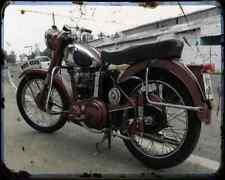 Bsa C11 03 A4 Metal Sign Motorbike Vintage Aged