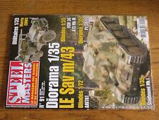 6µ? Revue Steel Masters n°91 Morris CDWS / FCM 36 / PZ 38 / AAV7A1 / A13 Mk III