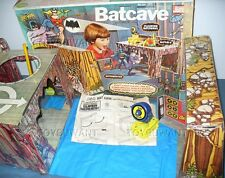 ESTATE VINTAGE 1974 MEGO BATMAN BATCAVE PLAYSET ORIGINAL BOX PLAY MAT BAT SIGNAL