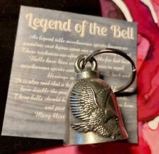 Eagle Bell Of Good Luck gift fortune pet keychain gift America patriot friends
