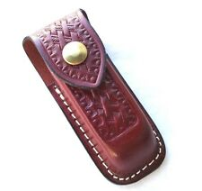 Victorinox Knives Zermatt Xl Belt Pouch Brown Leather 33206 New!