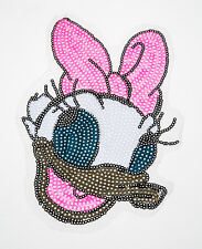 DAISY Mini Craft Sequin Embroidered Patch Sew Iron-On Patch D.I.Y. New