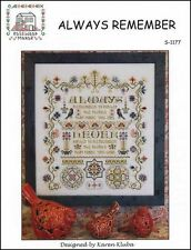 Always Remeber by Rosewood Manor S-1177 designs by Karen Kluba/Pamphlet