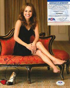 GIADA DE LAURENTIIS Autographed Signed 8x10 Photo - PSA/DNA COA - SEXY Chef