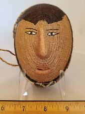 New ListingNative Central American Wounaan Figural Woven Seed Basket Purse