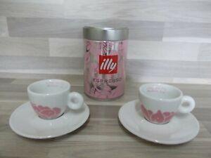4-teilig Espresso Set/+Blechdose von illy Collection 2006 Arteprima Michael Lin