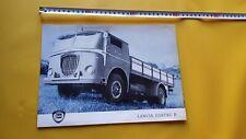 Lancia Esatau B Autocarro 1959 depliant originale testo TEDESCO german text