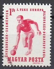 Ungarn Briefmarke gestempelt Kegeln Sport europameisterschaft Jahrgang 1964/1057