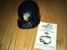 Felix Hernandez Everett Aquasox Signed Mini Helmet Just Minors Certified