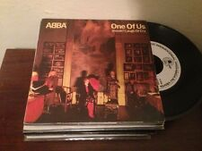 """ABBA - SPANISH WHITE LABEL 7"""" SINGLE SPAIN ONE OF US"""