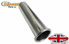 """Exhaust Tail Pipe Polished Stainless Steel  2"""" - 50mm weld on 304 Uk made"""