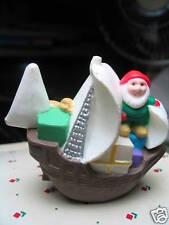 Hallmark Merry Miniatures Pinta Elf Sailing Ship 1992