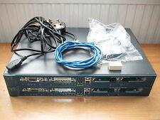 Cisco CCENT CCNA CCNP CCVP Starter Lab 2x1760 [2610xm] Router 12.4 K9&2950t-24