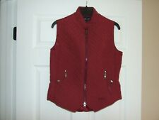 EOUS Windsor Equestrian Riding Vest  Size Medium for Woman Dark Red