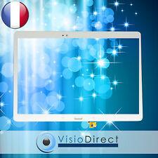 Vitre ecran tactile pour Samsung Galaxy Tab S SM-T800 / T805 blanc neige