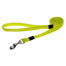 Rogz Dog Utility Fixed Long Leash Lumberjack X-Large DayGlo Yellow