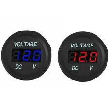 DC 12V-24V Car Motorcycle LED Panel Digital Voltage Tester Voltmeter Nic S5J6