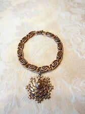 Vintage Copper Modernist Bracelet