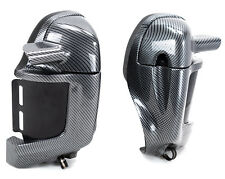 Carbon Fiber Look Harley-Davidson Vented Lower Fairings 83-13 Touring Bagger