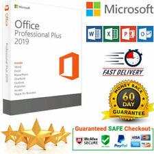 MS Office 2019 Pro Professional Plus Vollversion 32/64 Key Lizenz Multilingual