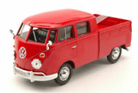 Model Car Scale 1:24 MotorMax VW Type 2 T1 Pick Up vehicles diecast