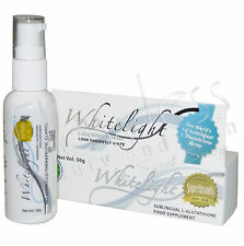 Authentic Whitelight Sublingual L-Glutathione Skin Lightening Spray - ON SALE!!