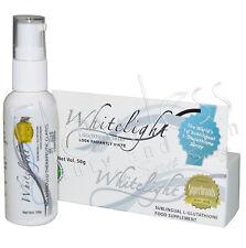 Authentic Whitelight Sublingual L-Glutathione Skin Lightening Spray - BEST PRICE