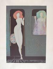 Leonor FINI S/N Silkscreen Vesper Express (album: Les Leçons) 1976