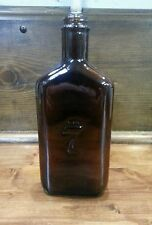 """COLLECTABLE """" SEAGRAMS 7 """" OLD BROWN WHISKEY BOTTLE."""