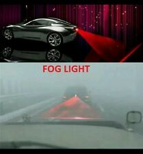 Anti Collision Rear-end Car Laser Tail Fog Light Auto Brake Parking Lamp Rearing