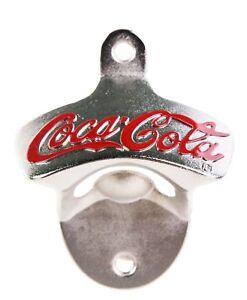 Coca Cola Wall Mounted Bottle Opener Beer Home Garden Bar Pub Restaurant Barware