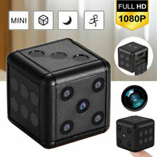 NEW 1080P SQ16 HD Mini Hidden Camera Dice Microphone Hide Keychain Cam Security