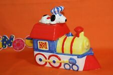Peanuts Snoopy Willitts Musical Train Bookend 1972