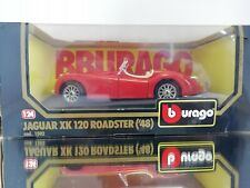 Bburago 1/24 JAGUAR XK 120 ROADSTER ('48) cod 1502 CONDITION MINT BOXED IN RED