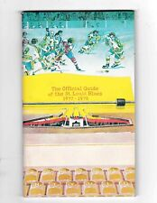 1977-78 St. Louis Blues Official Media Guide