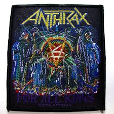 anthrax for all kings WOVEN  PATCH