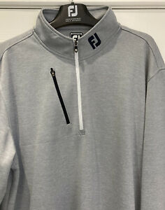 Very Lightly Worn Footjoy Chill Out Pullover  In Grey Size XL *VGC*