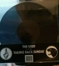 "The Used and Taking Back Sunday 10"" colored vinyl"