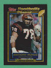 1992 Topps Football's Finest Anthony Munoz Cincinnati Bengals #21