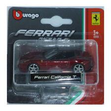 BBURAGO 56000 Ferrari California T rouge foncé métallique échelle 1:64 NOUVEAU !