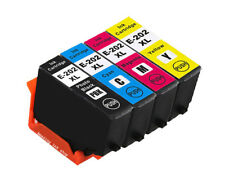 4 Compatible Ink Cartridge For Epson XP-6000 XP-6001 XP-6005 202 202XL (NON-OEM)
