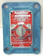 APPLETON N2K102SLC 3POS SELECT SW COVER, CONTROL STATION COVER ASSY, NIB <777C4