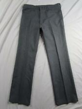 Wrangler USA 82HG Sta Prest Pants Tag 36x32 Measure 34x32 Polyester Dress Slacks